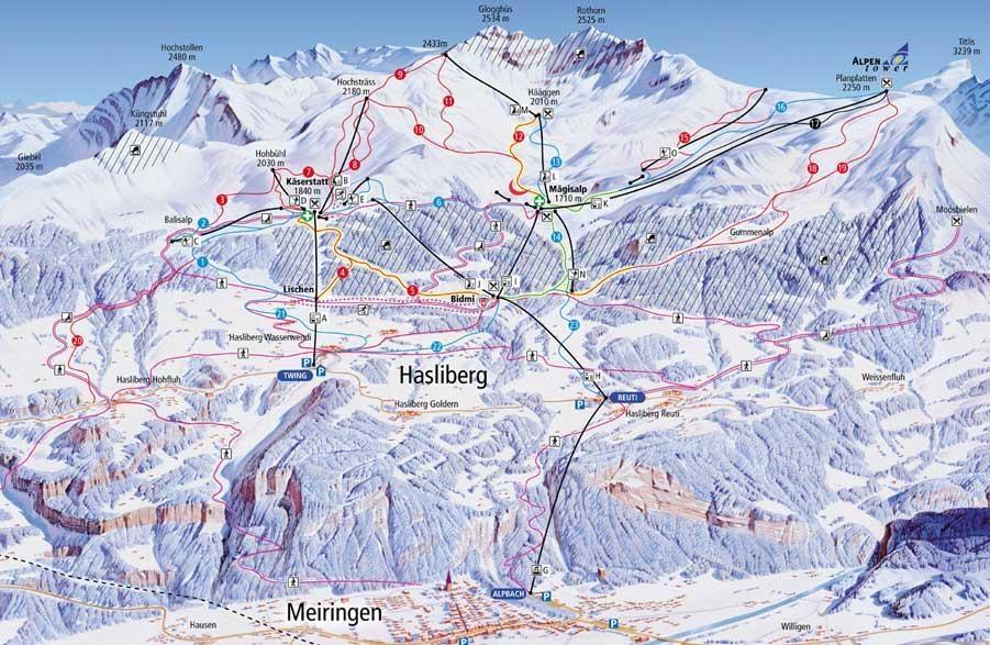 hasliberg-ski-map